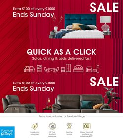 Home & Furniture offers in the Furniture Village catalogue ( 4 days left)