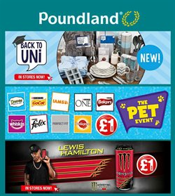 Poundland offers in the Belfast catalogue