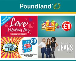 Saint Valentine's Day offers in the Poundland catalogue in London