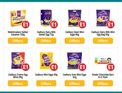 Eggs offers in the Poundland catalogue in London