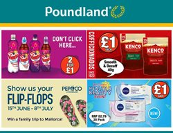 Poundland offers in the Camden catalogue