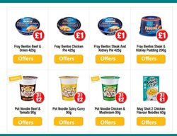 Ready meals offers in the Poundland catalogue in Leicester
