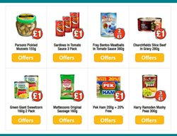 Ham offers in the Poundland catalogue in Widnes