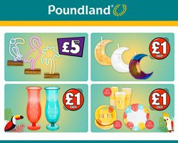Poundland offers in the Brighton catalogue