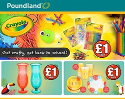 Poundland offers in the Birmingham catalogue