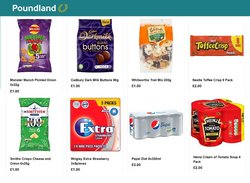 Supermarkets offers in the Poundland catalogue ( 16 days left )