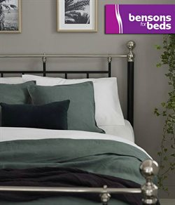 Bensons for Beds offers in the London catalogue