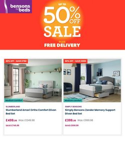 Bensons for Beds offers in the Bensons for Beds catalogue ( Expires today)