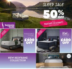 Home & Furniture offers in the Bensons for Beds catalogue ( Expires today)