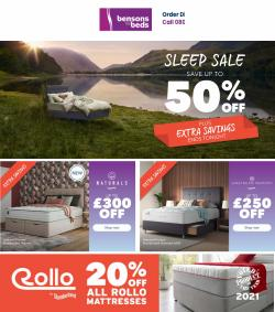 Home & Furniture offers in the Bensons for Beds catalogue ( Published today)
