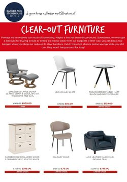 Home & Furniture offers in the Barker & Stonehouse catalogue ( 2 days left)