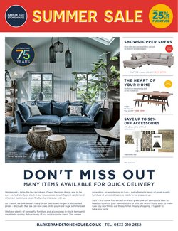 Barker & Stonehouse offers in the Barker & Stonehouse catalogue ( 28 days left)