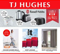 TJ Hughes offers in the Liverpool catalogue