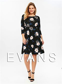 Evans offers in the London catalogue