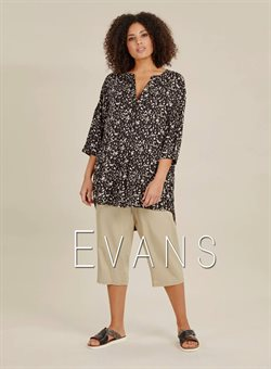 Evans offers in the Leicester catalogue