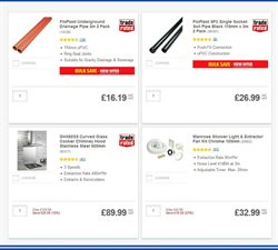 Hardware offers in the Screwfix catalogue in London