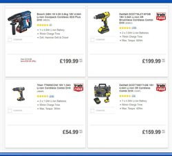 Tools offers in the Screwfix catalogue in Rhondda