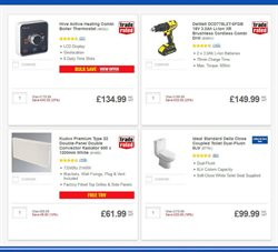 Radiator offers in the Screwfix catalogue in London