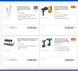 Tools offers in the Screwfix catalogue in London