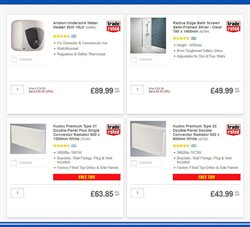 Bath offers in the Screwfix catalogue in London