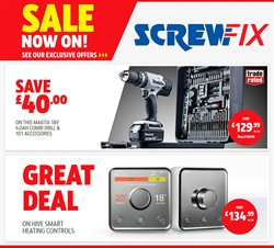 Garden & DIY offers in the Screwfix catalogue in Camden