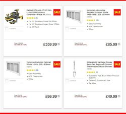 Shower offers in the Screwfix catalogue in London