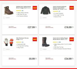 Clothing offers in the Screwfix catalogue in London