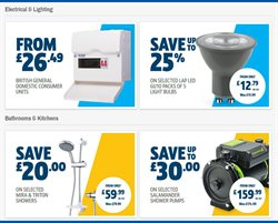 Shower offers in the Screwfix catalogue in Stoke-on-Trent