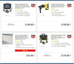 Laminate flooring offers in the Screwfix catalogue in London
