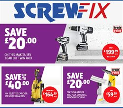 Screwfix offers in the Farnham catalogue