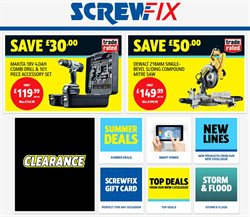 Garden & DIY offers in the Screwfix catalogue in Aberdeen