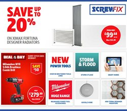 Garden & DIY offers in the Screwfix catalogue in Leicester