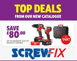 Garden & DIY offers in the Screwfix catalogue in London ( Expires tomorrow )