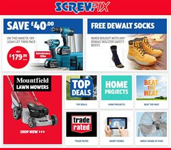 Garden & DIY offers in the Screwfix catalogue in Hove ( Expires tomorrow )