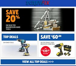 Garden & DIY offers in the Screwfix catalogue in Rotherham ( 16 days left )