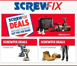 Garden & DIY offers in the Screwfix catalogue in Bognor Regis ( 12 days left )