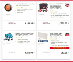 Offers of Hot water in Screwfix