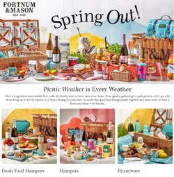 Department Stores offers in the Fortnum & Mason catalogue ( 5 days left )
