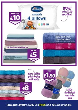 Bedding offers in the The Original Factory Shop catalogue in Worthing