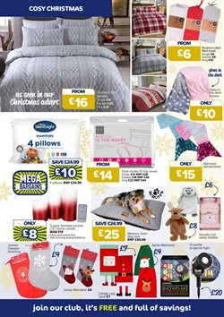 Bedding offers in the The Original Factory Shop catalogue in London