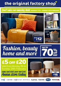 Home & Furniture offers in the The Original Factory Shop catalogue in Birmingham