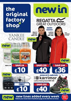 Home & Furniture offers in the The Original Factory Shop catalogue in Worthing ( 2 days left )
