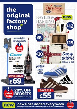 The Original Factory Shop catalogue in Sheffield ( Expires today )