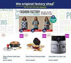 The Original Factory Shop catalogue ( 5 days left)