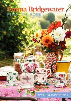 Emma Bridgewater catalogue ( More than a month )