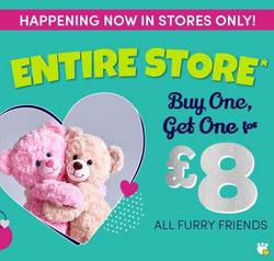 Build a Bear coupon in Bury ( 16 days left )