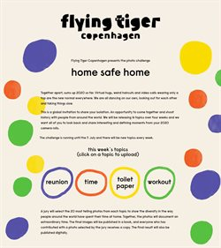 Flying Tiger catalogue ( Expired )
