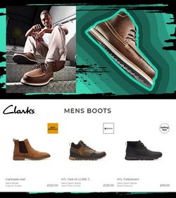 Clarks offers in the Clarks catalogue ( 5 days left)