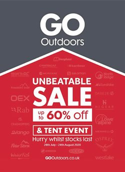 GO Outdoors catalogue in Stoke-on-Trent ( 19 days left )