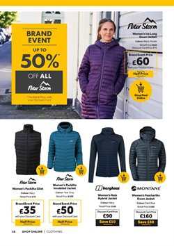 Offers of Berghaus in GO Outdoors